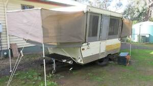 Jayco Pop-Up Camper - 2 types of annex with end covers Panton Hill Nillumbik Area Preview