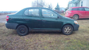 2001 Toyota Echo Sedan $300 FIRM!!!
