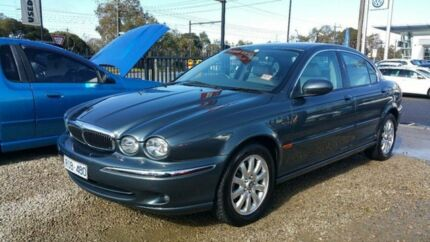2001 Jaguar X-Type SE Blue 5 Speed Automatic Sedan Frankston Frankston Area Preview
