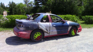 Pontiac Sunfire Redneck Race Car - Winter/Summer Toy