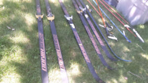Skis and other sporting goods