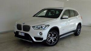 2015 BMW X1 F48 xDrive20d Steptronic AWD White 8 Speed Sports Automatic Wagon Hobart CBD Hobart City Preview