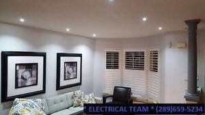 POT LIGHTS INSTALLATION < > Professional service - low prices Stratford Kitchener Area image 1