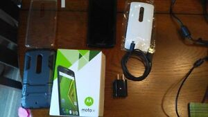 Moto X Play 16gb Unlocked w/box, Moto E 2nd Gen 8GB