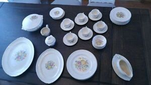 50 piece cross stitch pattern china set