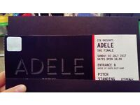 2 x standing Adele Tickets for Sunday 2nd July
