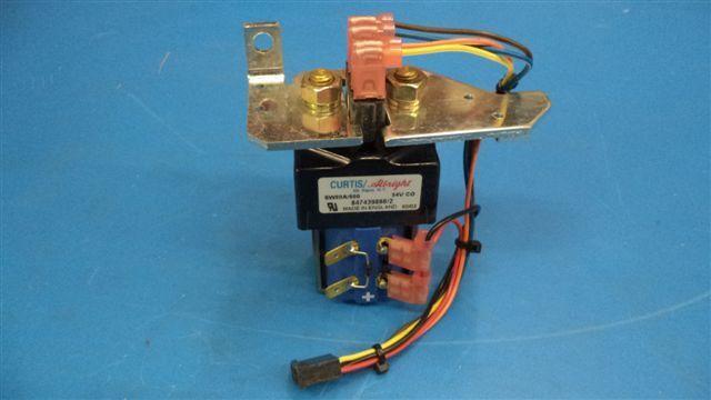 Curtis Albright Contactor SW80A-600, 847439866,  54v Coil,  W/BUSBAR