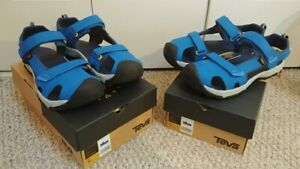 "Two pairs of NEW Teva ""Toachi"" youth sandals, size 5 & 6"
