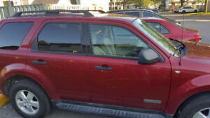 2008 Ford Escape XLT, mechanicallty good, body need reparation
