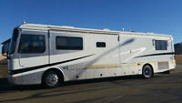 2000 MONACO DYNASTY 40 FOOT DIESEL PUSHER ROAD MASTER