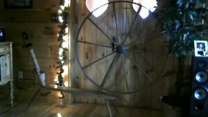 Antique Spin Wheel