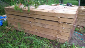 5x5x8 Pressure treated posts - never used