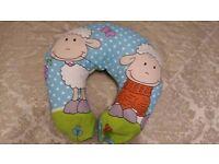 Nursing/breast feeding/baby support pillow