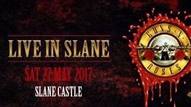 2x Guns and Roses tickets slane Castle