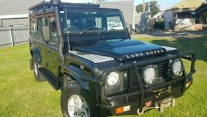 2008 Land Rover Defender 110 (4x4) Black 6 Speed Manual Wagon Maitland Maitland Area Preview