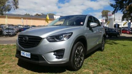 2015 Mazda CX-5 MY15 Akera (4x4) Silver 6 Speed Automatic Wagon