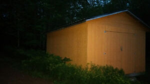 "QUOTE TO MOVE NEW MINI BARN 14'w x 20'L x 11'9"" h"