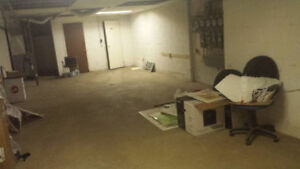 COMMERCIAL BASEMENT FOR RENT $500/MONTH