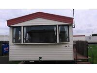6 - 8 berth static caravan for hire in Rhyl