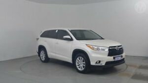 2015 Toyota Kluger GSU55R GX AWD Crystal Pearl 6 Speed Sports Automatic Wagon Perth Airport Belmont Area Preview