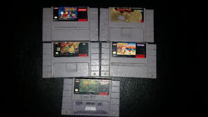 Selling a Bundle of SNES Games