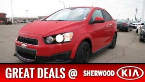 2012 Chevrolet Sonic LS SEDAN Accident Free,