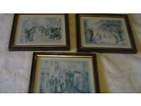 Set of 3 small pictures