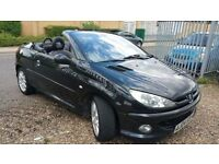 Peugeot 206 CC 2.0 16v SE 2 door, Petrol, Convertible, 2004 - Very Good Condition