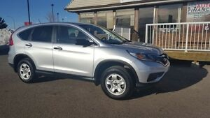 2015 Honda CR-V LX, ONE OWNER LOCAL TRADE