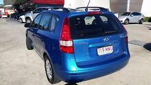 2009 Hyundai i30 FD MY09 SX cw Wagon Blue 4 Speed Automatic Wagon Buderim Maroochydore Area Preview
