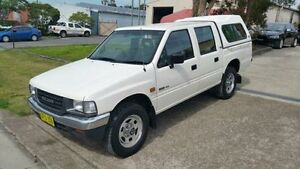 1993 Holden Rodeo TFG1 DLX (4x4) White 5 Speed Manual 4x4 Crewcab Macquarie Hills Lake Macquarie Area Preview