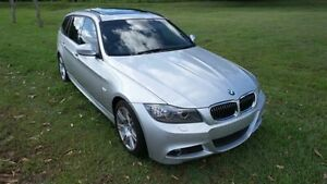 2010 BMW 323I E91 MY10 Titan Silver 6 Speed Automatic Wagon Reedy Creek Gold Coast South Preview