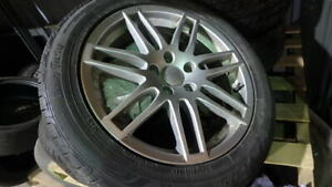 Volkswagen 225/50/R17 Aluminum wheels and tires