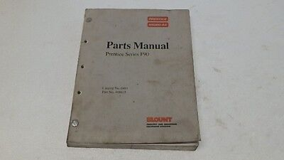 Prentice Hydro-ax F90 Loader Parts Manual Ci264