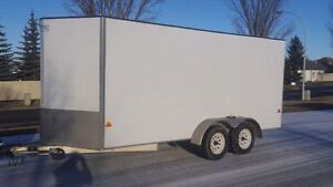 2013 ULTRA LIGHT - ALL ALUMINUM ENCLOSED CARGO TRAILER