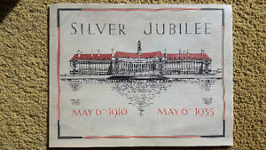 May 1910-1935 Silver Jubilee Message George V & Mary