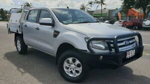 2015 Ford Ranger PX XLS Double Cab Silver 6 Speed Sports Automatic Utility