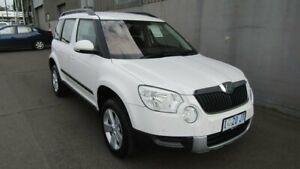 2012 Skoda Yeti 5L 77TSI DSG White 7 Speed Sports Automatic Dual Clutch Wagon Ocean Vista Burnie Area Preview