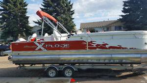 24ft 2011 Manitou X-Plode Sportfish Pontoon