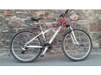 FULLY SERVICED GIANT BOULDER ALUMINIUM LIGHTWEIGHT FRAME BICYCLE
