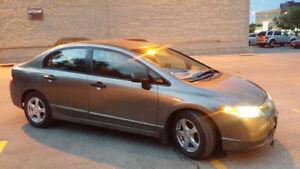 2007 Honda Civic DX-G Sedan Clean title