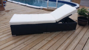 Outdoor Lounger Chaise