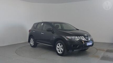 2010 Nissan Murano Z51 ST Black Obsidian Continuous Variable Wagon Perth Airport Belmont Area Preview