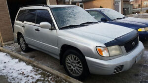 "2002 Subaru Forester Sport SUV, Crossover ""As Is"""