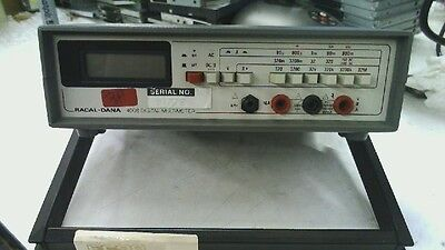 Racal-dana Portable Digit Multimeter Dmm 4008