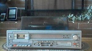 Stereo for sale, no speakers.  Radio/cassette/record player
