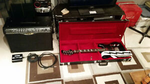 Guitar and Amp Combo - Line 6 and Hardluck Kings