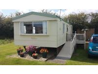 Bargain 2006 sahara super stasic caravan28x12 ft with 13x8ft balcony with ramp 2bed room