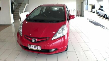 2010 Honda Jazz GE MY10 GLI Limited Edition Red 5 Speed Automatic Hatchback Southport Gold Coast City Preview