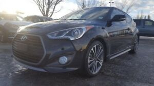 2016 Hyundai Veloster COUPE TURBO Leather,  Heated Seats,  Back-